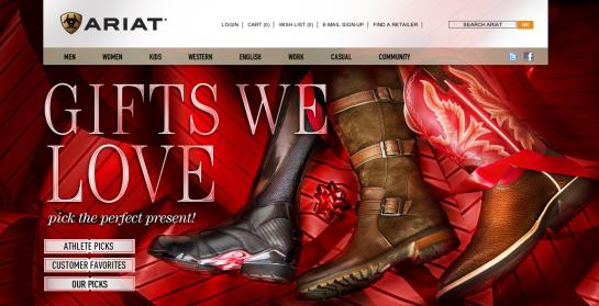 Ariat Holiday 2011