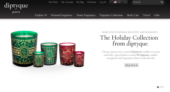 Diptyque Holiday Collection 2011