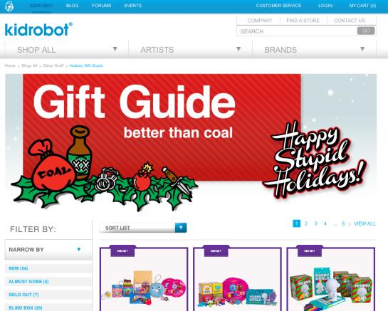 Kidrobot Gift Guide